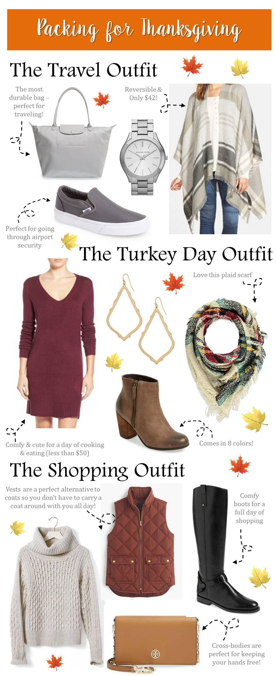 What to pack for Thanksgiving